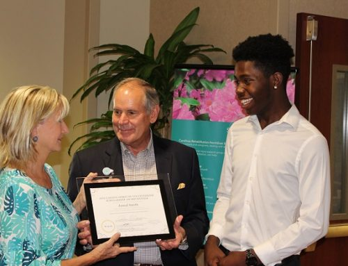 Jamal Smith Named 2019 Ann Cannon Spirit of Volunteerism Scholarship Winner