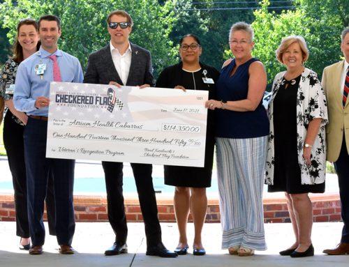 Brad Keselowski Supports Veterans Recognition Program